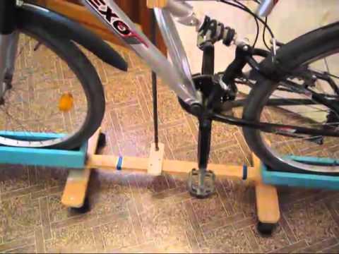 Подставка для велосипеда своими руками видео