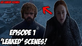 2 LEAKED Episode 1 Scenes! Game Of Thrones Season 8 (Leaked Scenes)