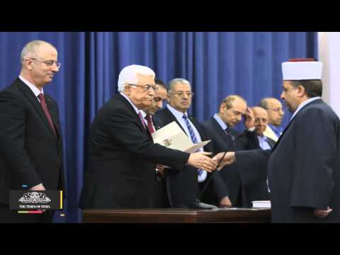 Abbas Swears In Palestinian Unity Government - TOI