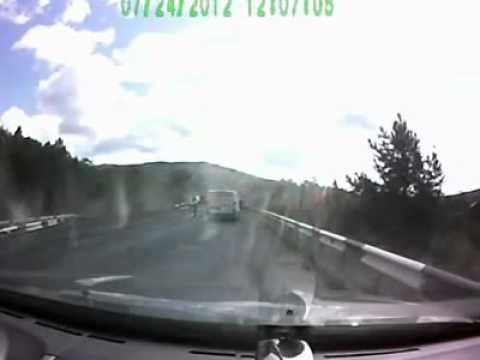 Фура без тормозов на трассе М5