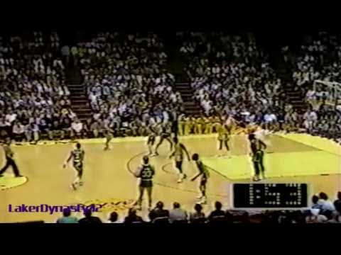 Magic Johnson 1987: 39pts vs. Boston Celtics
