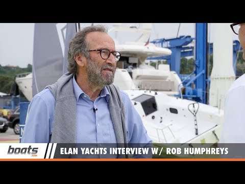 Elan Yachts Interview with Rob Humphreys