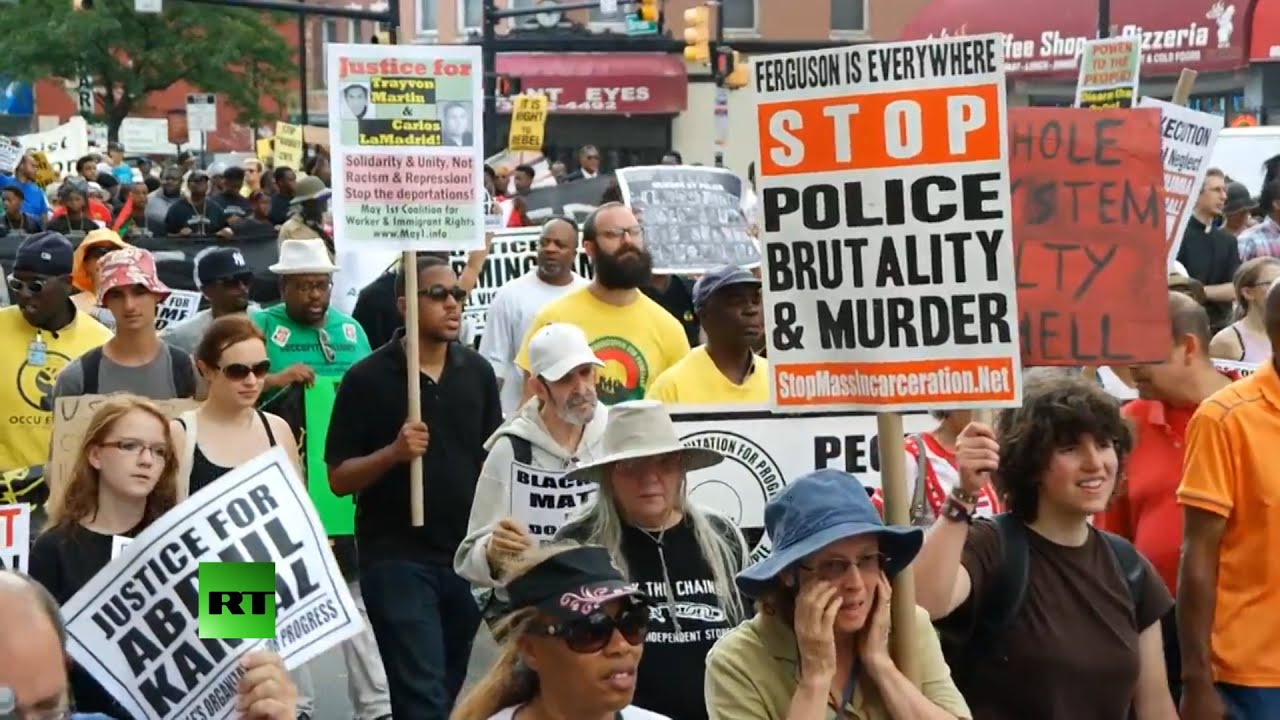 RAW: Hundreds crowd NJ streets to protest police brutality