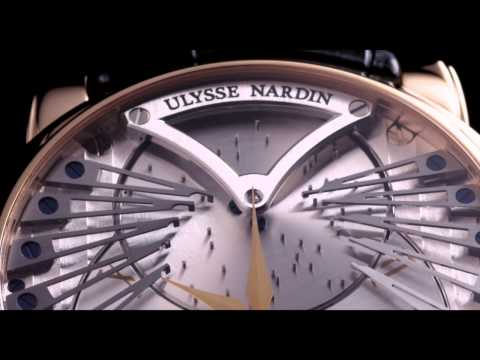 Ulysse Nardin Stranger Music Box Watch Plays Frank Sinatra