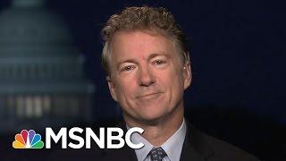 Sen. Rand Paul Keeps An Open Mind On Rex Tillerson | Hardball | MSNBC
