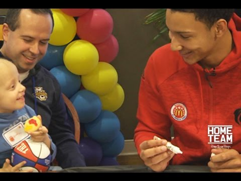 Ben Simmons Recruiting Cookies.. Preview Clip From McDonald's All American: All Access