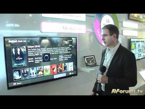 IFA 2010 - LG smart TV with Plex demo