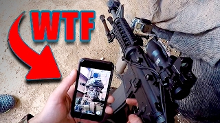 RISAS en COMBATE (AIRSOFT Funny Backstage moments & Fails) - GuidoFTO