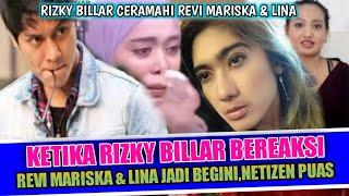 Download lagu 🔴RIZKY BILLAR BERHASIL BUAT REVI MARISKA & LINA KAPOK TAK NYINYIR LAGI,WARGANET DUKUNG TERUS LESTI