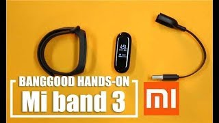 XIAOMI MI BAND 3 (Hands On & Features Explained!)