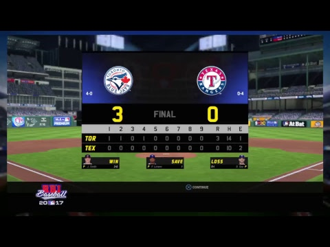 RBI Baseball 17, Road To The 2017 World Series {Blue Jays 122-40} Play Sports With Passion