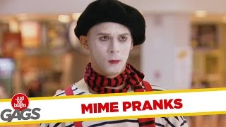 Best Mime Pranks - Best Of Just For Laughs Gags