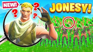 Finding The *REAL* JONESY For RARE LOOT (Fortnite)