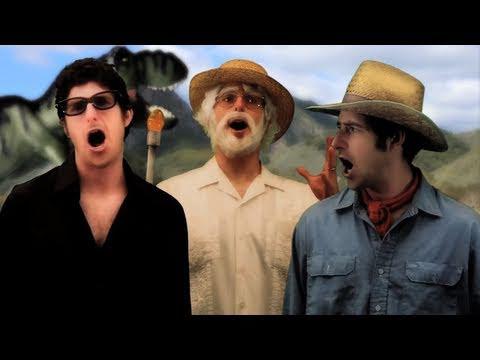 Jurassic Park Theme Song with Lyrics - Goldentusk