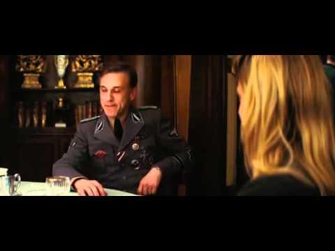 Hans Landa - Inglourious Bastards - Restaurant Scene