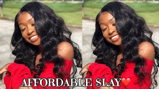 AFFORDABLE SLAY | Inexpensive 360 Pre-plucked Wig ft. ChinaLaceWig | Lovevinni_