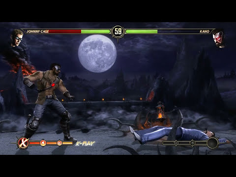 Let's Play Mortal Kombat 9 Story Mode Deutsch #01 - Johnny Cage