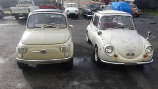 Classic Fiat 500 vs: Classic Subaru 360
