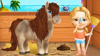 Sweet Baby Girl Summer Fun 2 - Play Fun Pony Care , Clean Up & Beauty Makeover Games For Girls