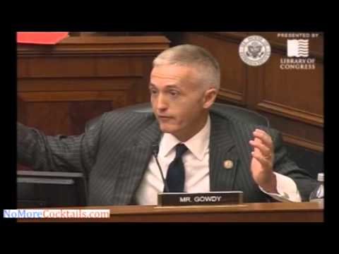 Trey Gowdy hammers Deputy AG James Cole over IRS targeting