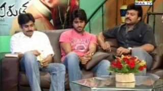 Chiru-Pawan-Charan exclusive Maatv interview part 4