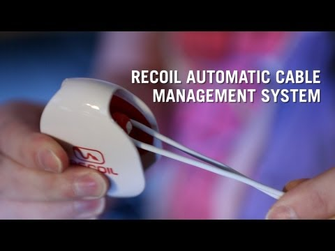 Recoil Automatic Cable Management System from ThinkGeek