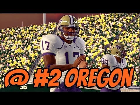 NCAA Football 13 - Pac 12 Online Dynasty: Week 6: #22 Washington @ #2 Oregon