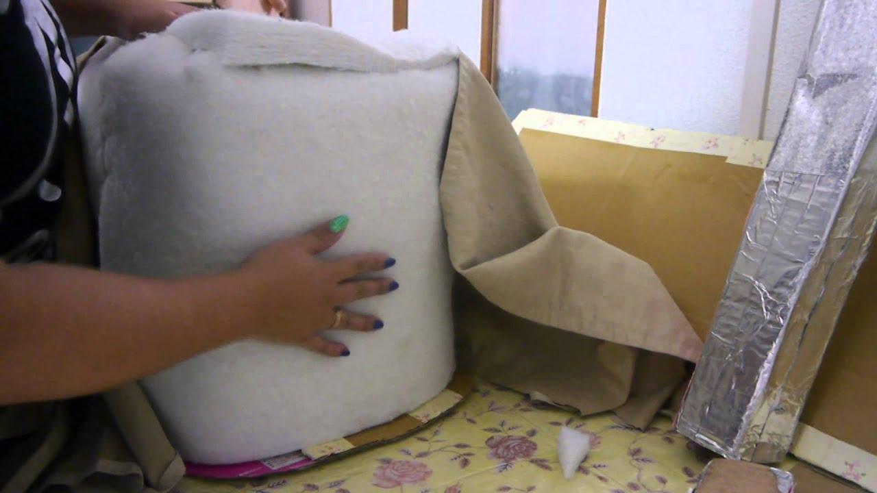 Manualidades mini sof con forma de zapato - Como hacer un sofa cama ...