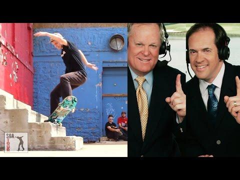 Golf Commentary Skateboarding 2!