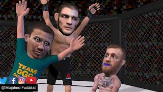 Khabib  Khabib with Conor Mcgregor kiki UFC