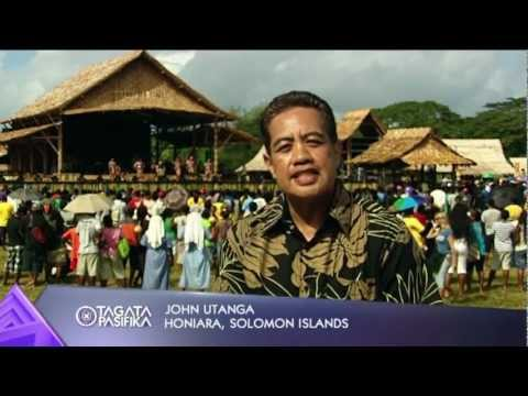 2012 Festival of Pacific Arts in the Solomon Islands Part 1 of 3
