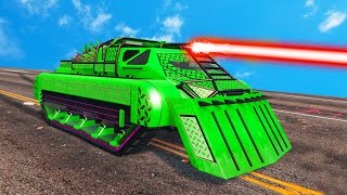 NEW $6,000,000 ARMORED BATTLE TANK! (GTA 5 DLC)