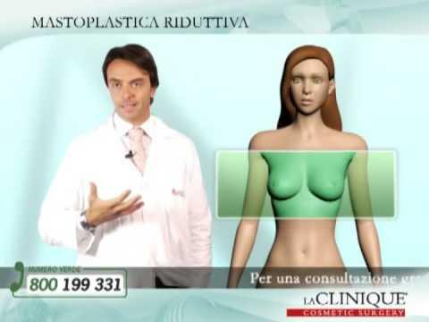 Mastoplastica Riduttiva - chirurgia plastica - LaCLINIQUE®-Medicina e Chirurgia Estetica Video