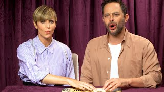 Charlize Theron & Nick Kroll Piss Off Some Spirits 😱 | Celebs Play Ouija Against Their Will