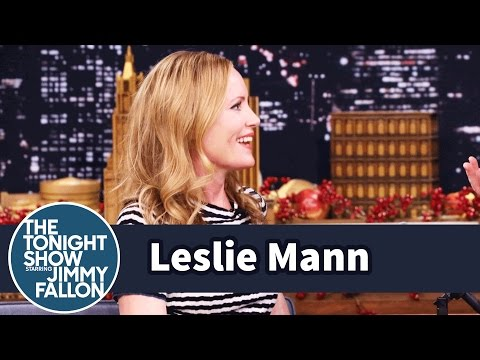 Leslie Mann Uses an App to Track Her Daughter at College