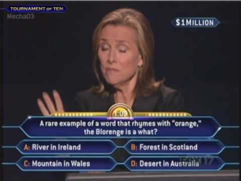 You Have One Million Dollars! - (Tournament Finale) - Who Wants to be a Millionaire [Old Format]