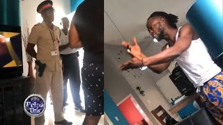 POLICE arrest STYLO G at his home accusing him of having a GUN / walk Norman are in police handcuff