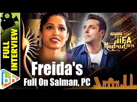 Freida Pinto | Full Interview | IIFA Madrid 2016 | Salman Khan | Priyanka Chopra