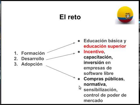 Software Libre en Ecuador