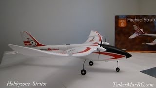 Hobbyzone Firebird Stratos Preview and Flight