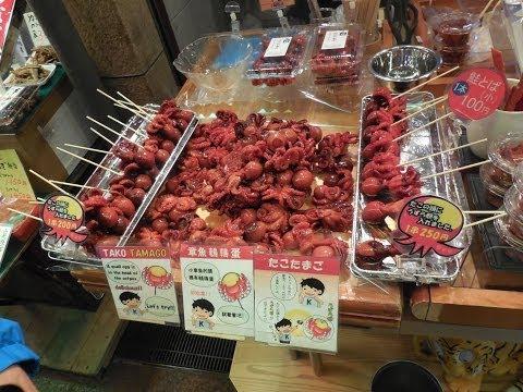 Japanese food flashpacking travel