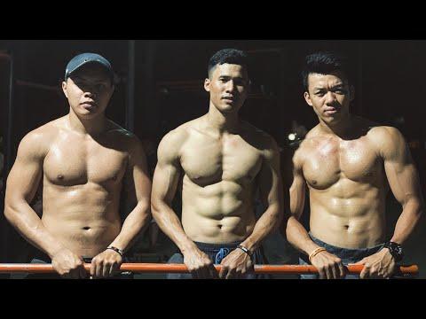 CẢNH BÁO: 4 phút tập bụng 6 múi này sẽ làm bạn NÁT! - Street Workout Làng Hoa.