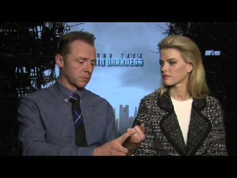 Simon Pegg and Alice Eve Interview - Star Trek Into Darkness