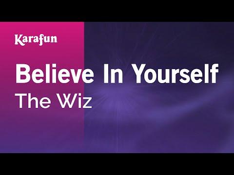 Karaoke Believe In Yourself - The Wiz