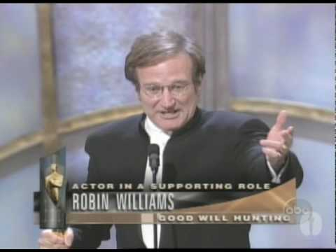 Robin Williams winning Best Supporting Actor