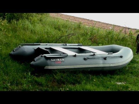 сборка лодки кайман 330 видео