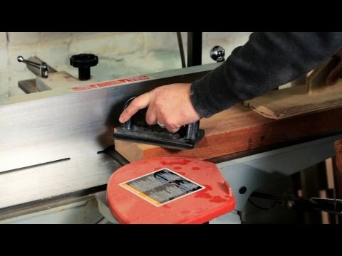 How to Use a Jointer   Woodworking