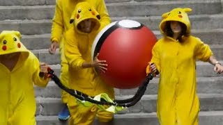 Pokemon fight back against Pokemon GO players
