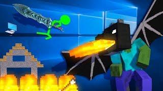 Animation vs. Minecraft - AVM Shorts Episode 1