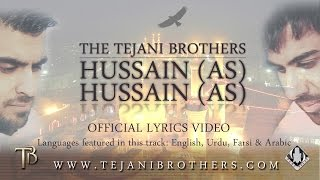 The Tejani Brothers - Hussain (as) Hussain (as) [O